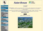Website der Stadt Saint Renan